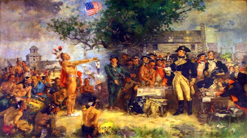 1795 : Treaty of Greenville Signed